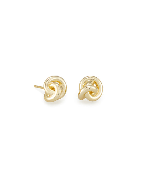 Presleigh Stud Ear Ring in Gold