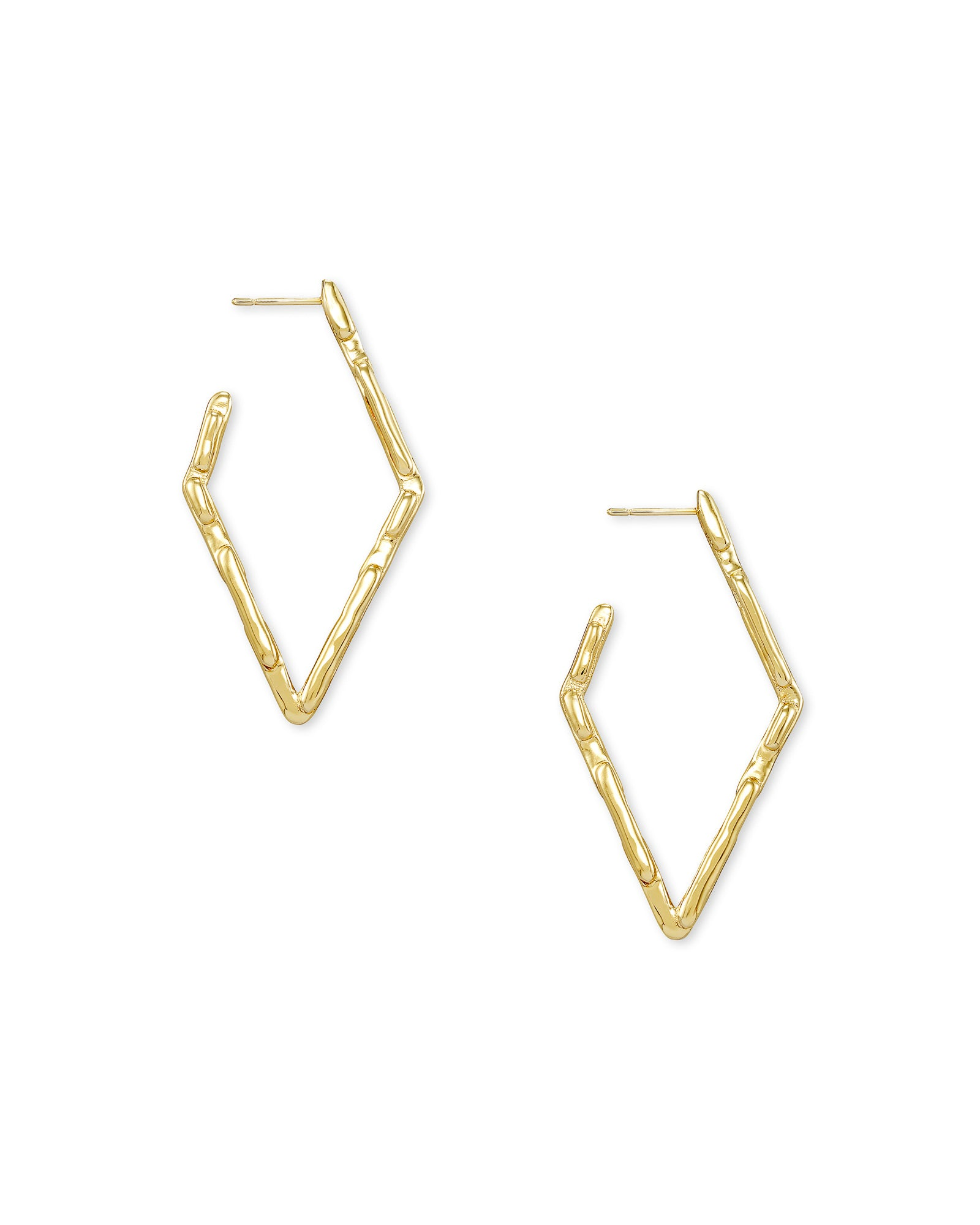 Rylan Small Hoop Earring in Gold Metal