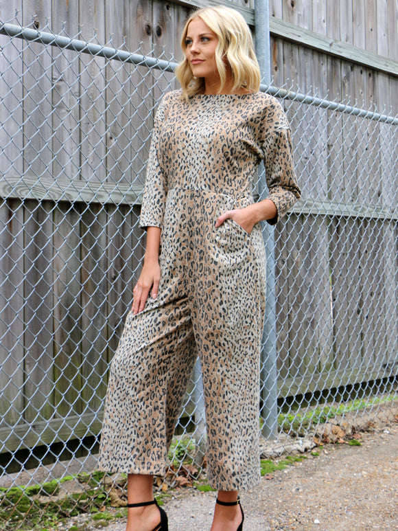 Her Feisty Side Cheetah Jumpsuit
