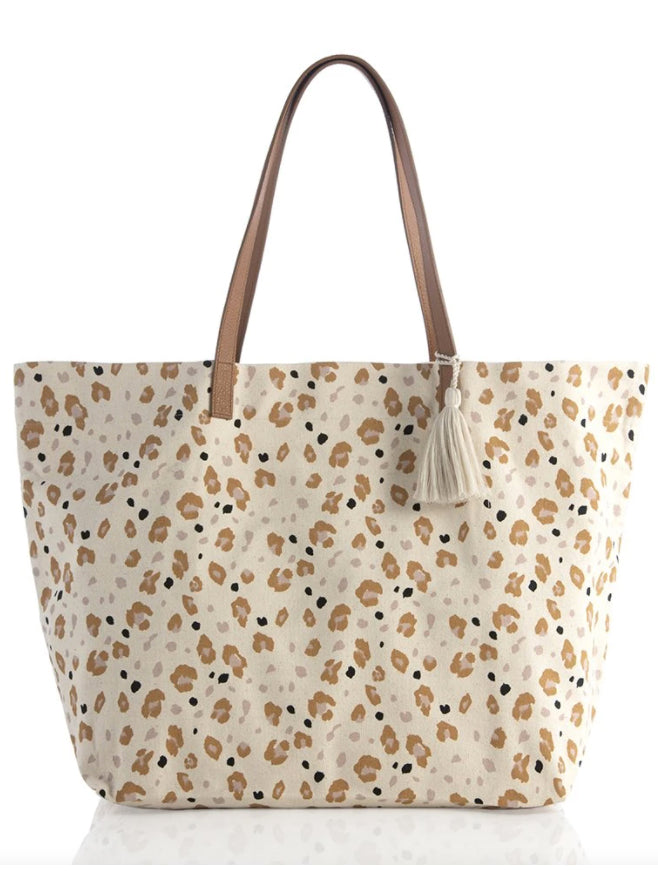 Always a Neutral Leopard Tote