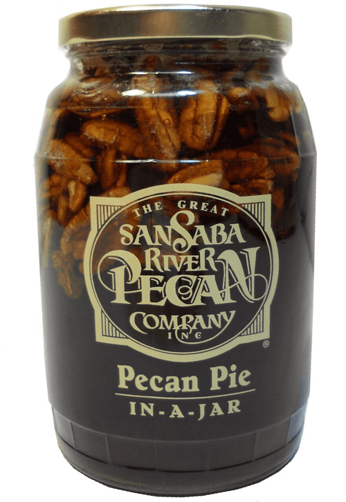 Traditional Pecan Pie in a Jar