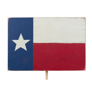 Welcome Board Topper in Texas Flag