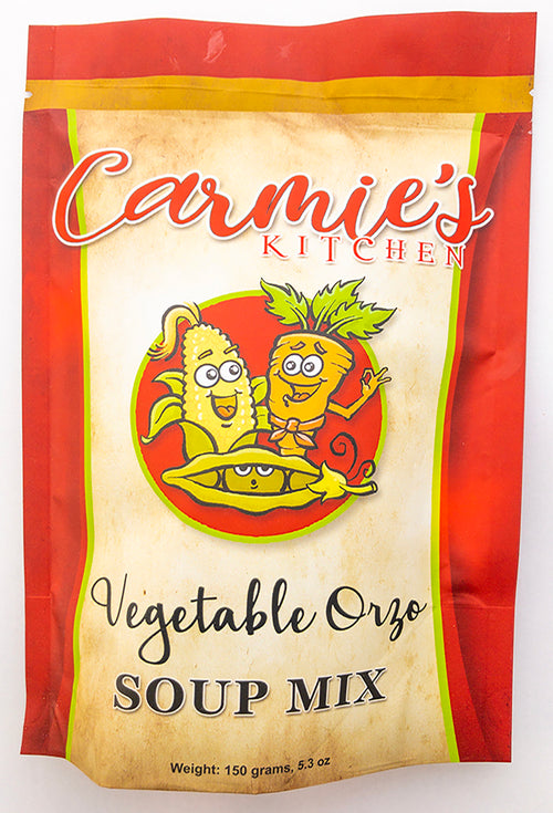 Carmie's Soup Mix - Vegetable Orza