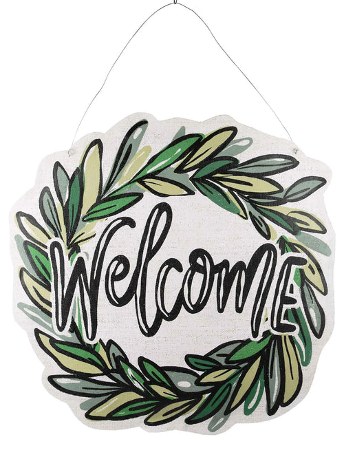 Reversible Welcome Friends/Happy Summer Burlee