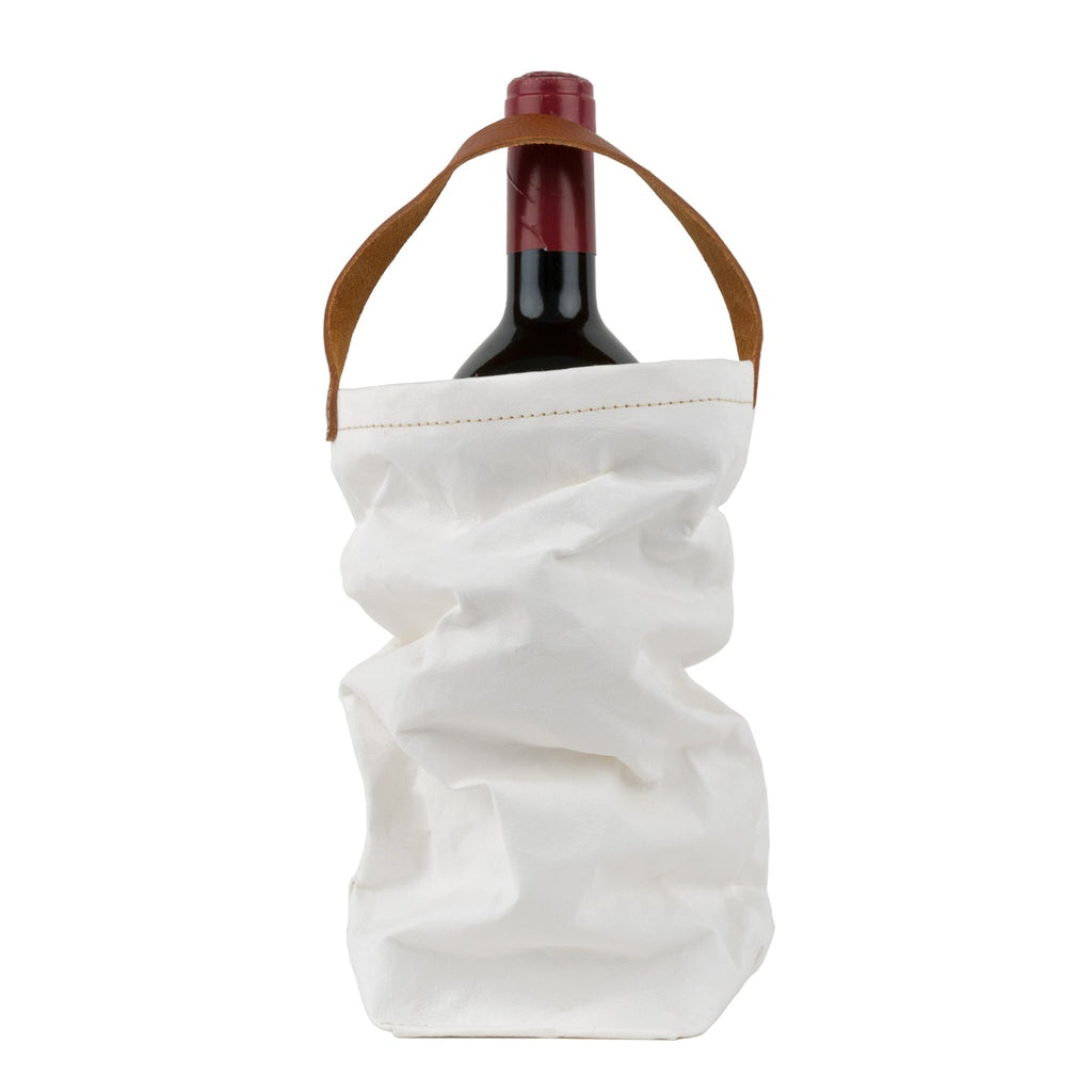 Uashmama Wine Tote Bag - Matte White