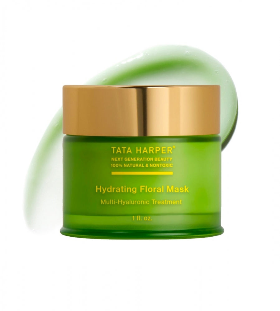 Hydrating Floral Mask, Clean Face Mask, Tata Harper, Organic Beauty, Clean Beauty, Organic Face Mask.