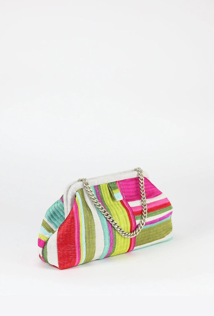 Marian Paquette - Liette Watermelon Stripe Bag
