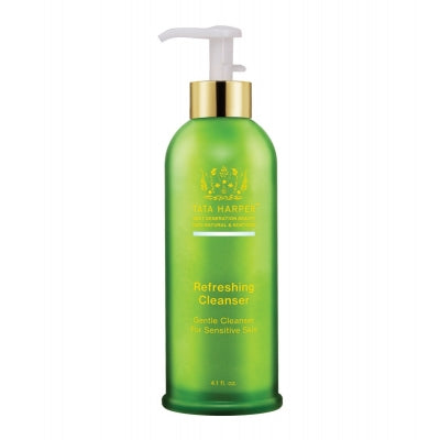 refreshing cleanser, tata harper, organic skincare, organic beauty, clean beauty, clean skincare, clean facialcleanser