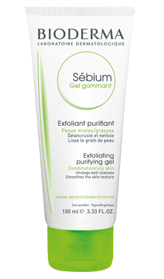 bioderma, french beauty line, beauty, sebium exfoliating gel, exfoliation, bioderma, oily skin exfoliator