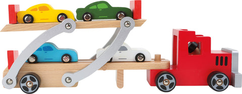 Autotransporter Auto Holz Spielsachen Small foot