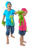 Kinder Frosch shirt Lipfish