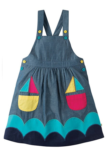 Perfect Pocket Pinafore Dress_Kleid_Frugi_Boat