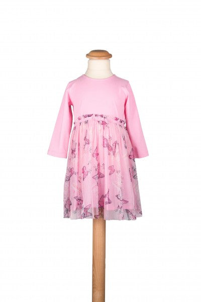 Rosa Schmetterlingkleid von Happy Girls ( 3, 6 Monate )