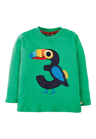 Magic Number Top Toucan Frugi SHirt