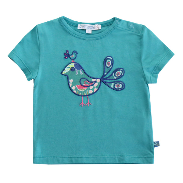Baby T-shirt Vogel in Patrolvon Enfant terrible