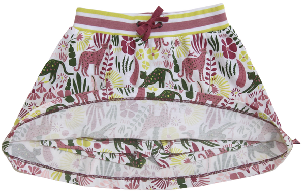 Skort= Rock + Shorts Jungledruck von Enfant Terrible