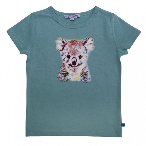 T-Shirt Koala druck in jade  von Enfant Terrible