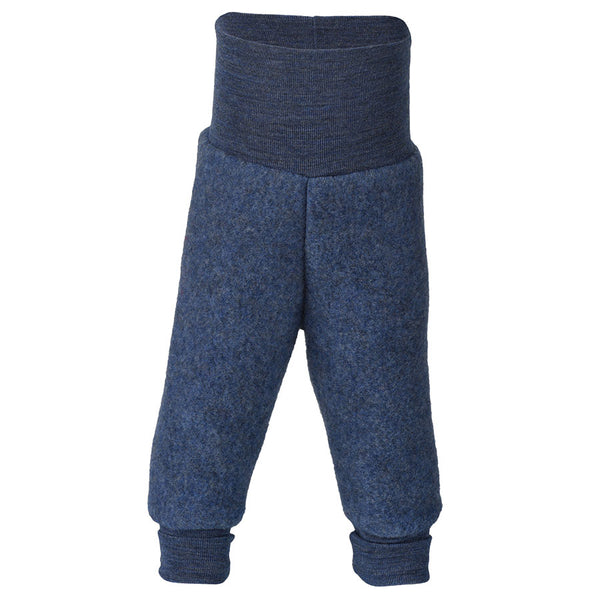 Hose Wool-Fleece in blau von Engel