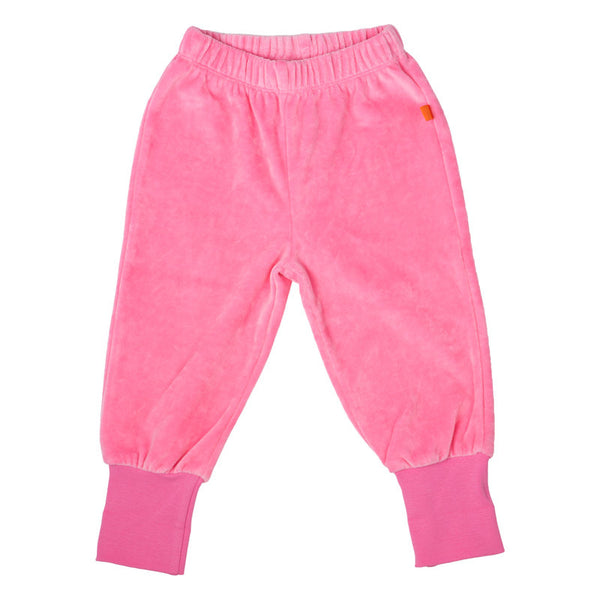 Velour Hose von Lipfish in Rosa