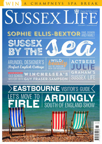 Our deckchairs and garden accessories included in Sussex Life Magazine