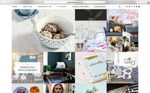 Thanks to Victoria for including us in the lovely lifestyle blog - Apartment 4!