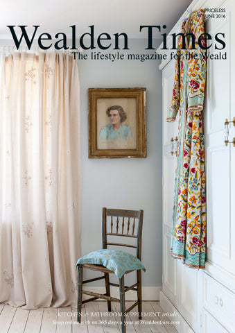Our Balcony Deckchair included in the Wealden Times