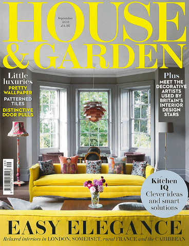 Our deckchairs included in House and Garden Magazine