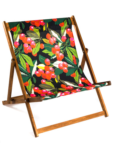 Large, wideboy deckchair