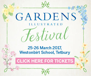 Denys & Fielding are attending the Gardens Illustrated Festival 2017