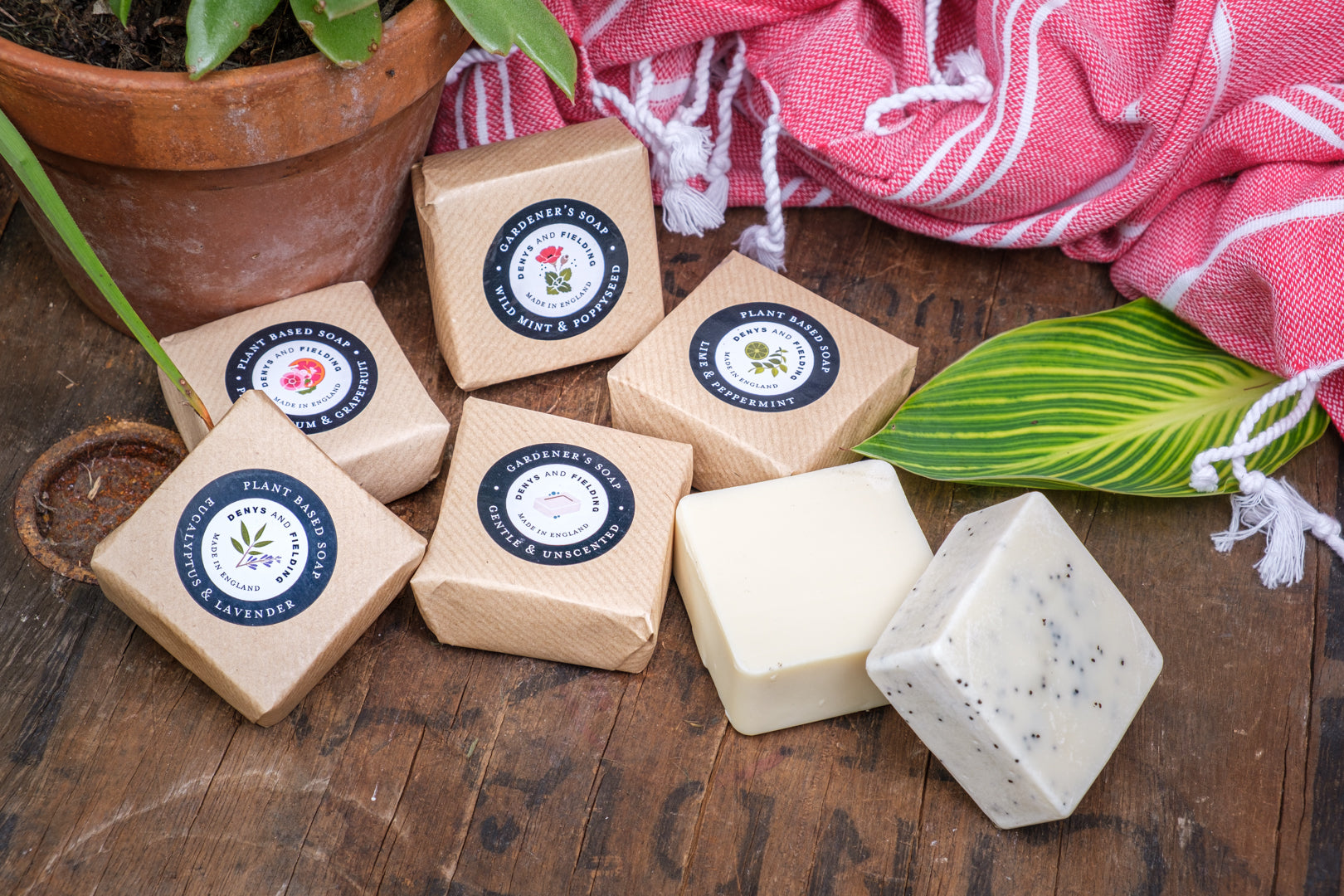 Cold processed soap made in Kent