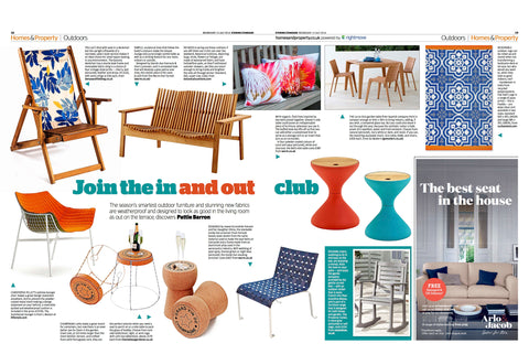 Our Balcony Deckchair included in the Evening Standard