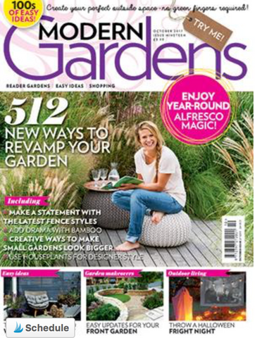 Denys & Fielding featured in modern garden magazine