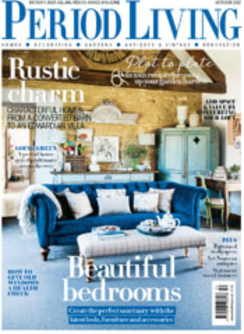 Denys & Fielding Deckchair featured in Period Living Magazine