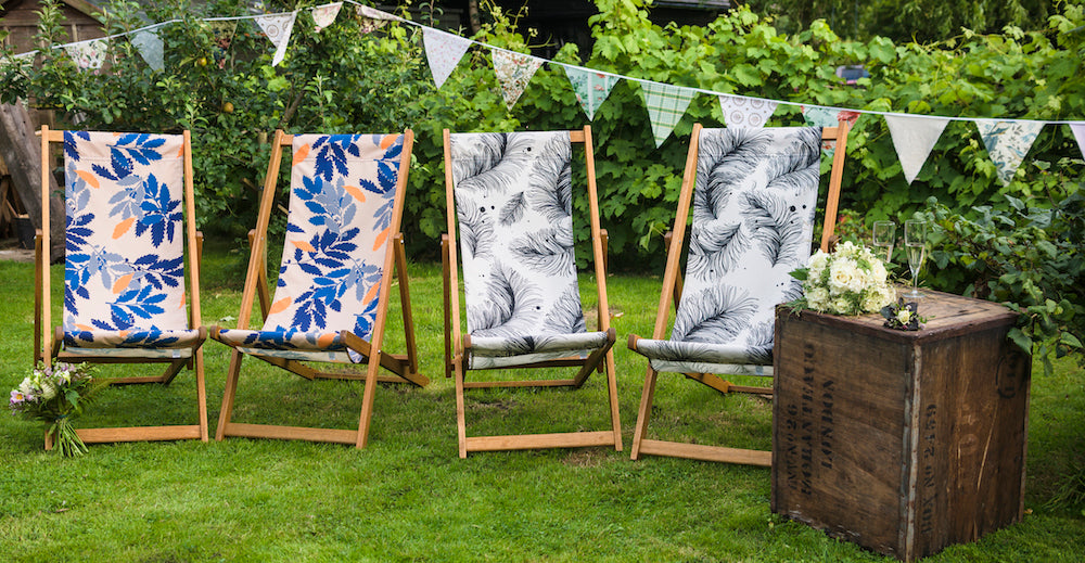 Deckchair Hire for Weddings and Parties