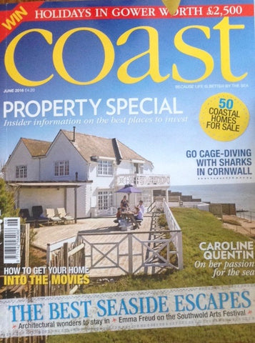 Our Classic deckchair included in Coast Magazine