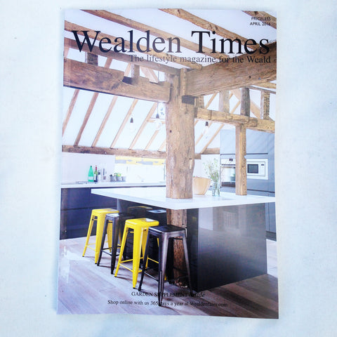 Deckchairs and cushions from Denys & Fielding included in the Wealden Times