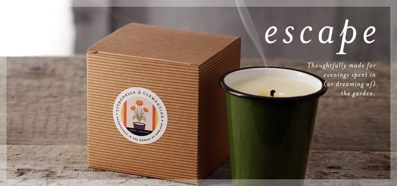 natural, soy wax candles