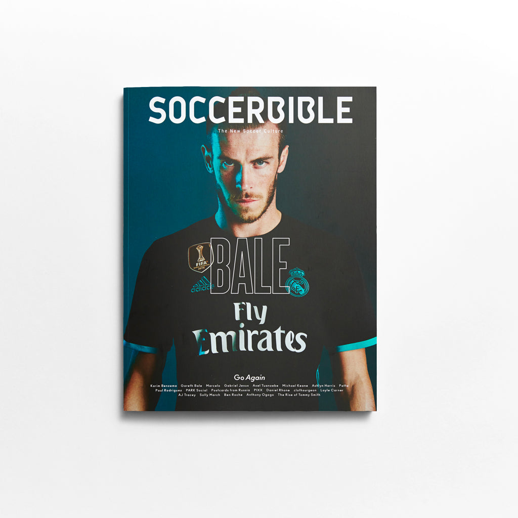 SoccerBible Magazine Issue 9 - Gareth Bale Cover