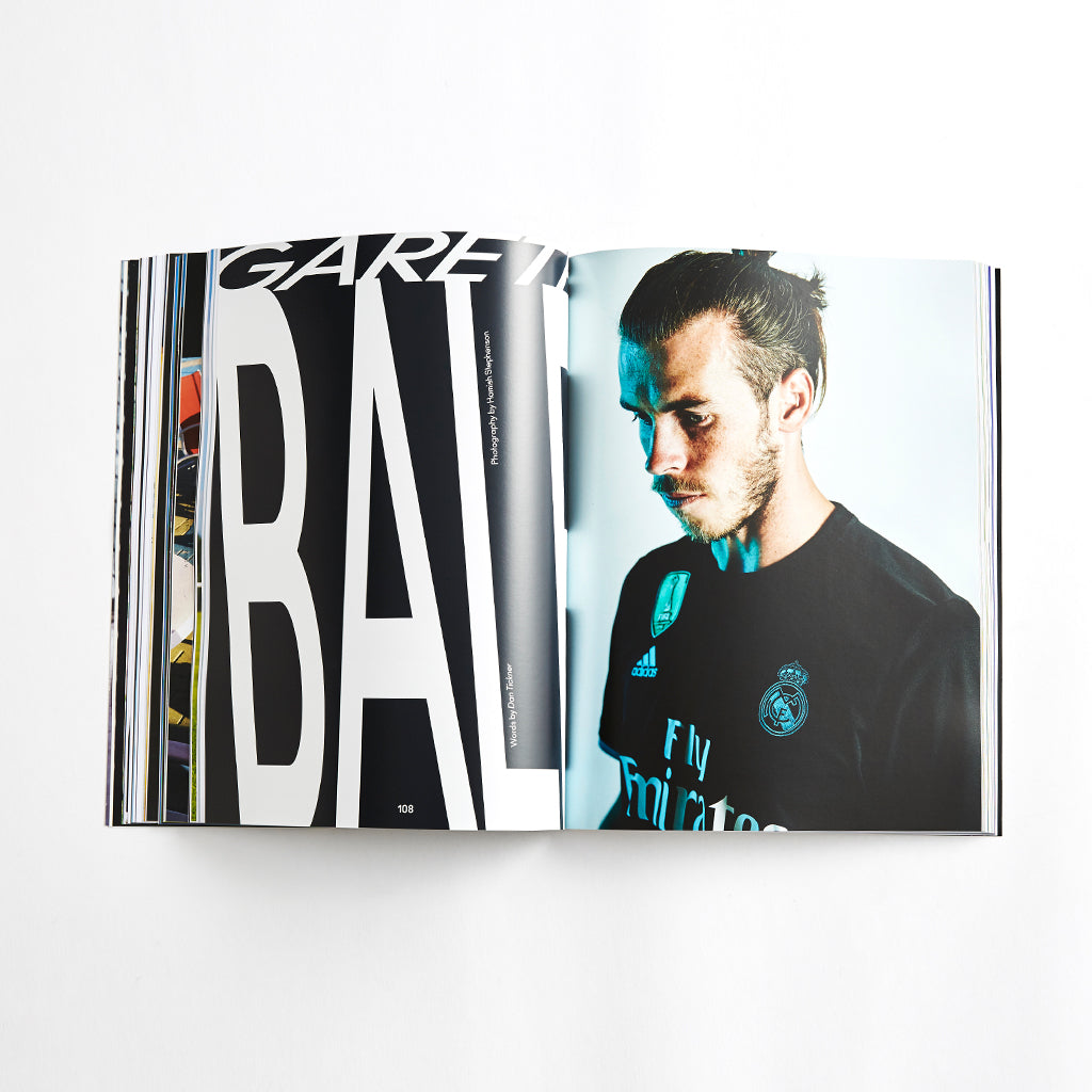 SoccerBible Magazine Issue 9 - Karim Benzema Cover