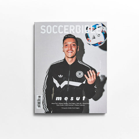 SoccerBible Magazine Issue 6 - Mesut Ozil Cover