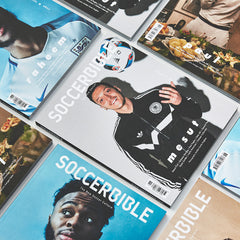 SoccerBible Magazine Issue 6 - Paul Pogba Cover
