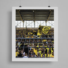 SoccerBible Print - Faces in the Wall