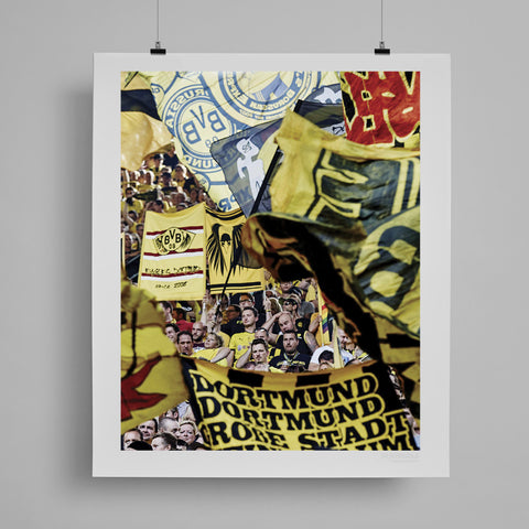 SoccerBible Print - Flags of the Wall