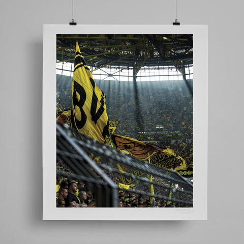 SoccerBible Print - The Yellow Wall