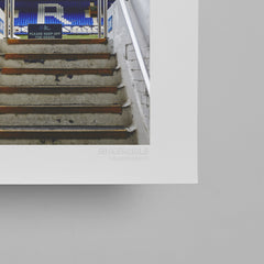SoccerBible Print - Goodison Steps