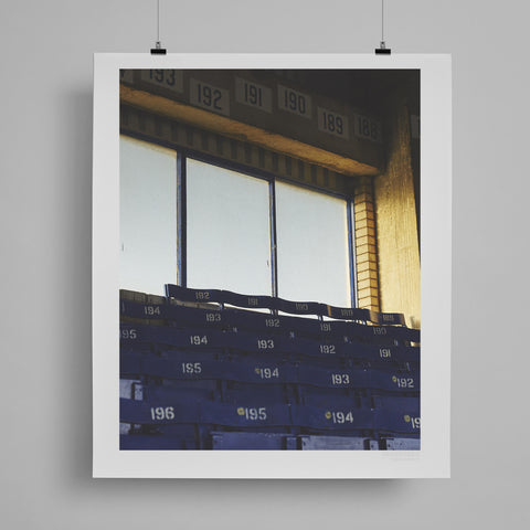 SoccerBible Print - Wooden Windows