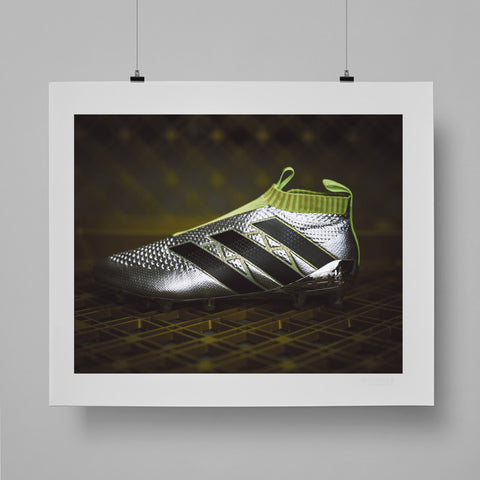 SoccerBible Print - adidas ACE 16+ PURECONTROL by Greg Coleman