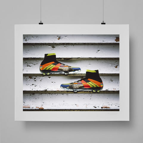 SoccerBible Print - What the Mercurial Pt. 2 by Greg Coleman
