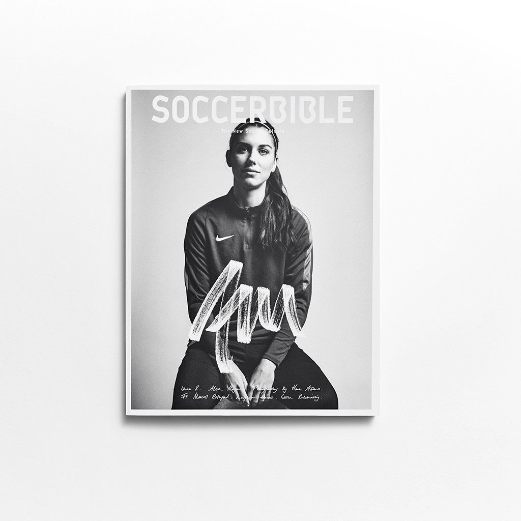 SoccerBible Magazine Issue 8 - Alex Morgan Cover