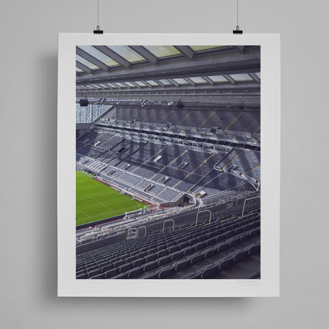 SoccerBible Print - Tyne Shadows